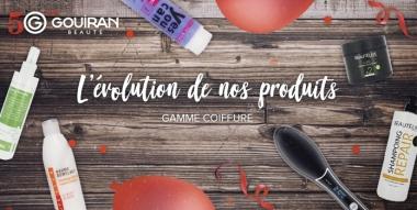 #Gouiran50ans : retour sur le développement des produits de la gamme coiffure !