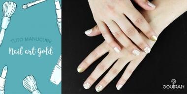 Tuto nail art : Comment réaliser une manucure gold originale ?