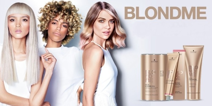 Faites du blond votre spécialité avec la nouvelle gamme BLOND ME de Schwarzkopf !