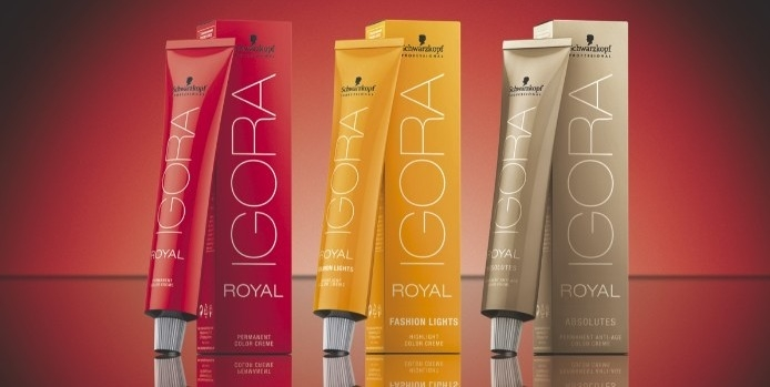 Guide des colorations IGORA ROYAL de Schwarzkopf
