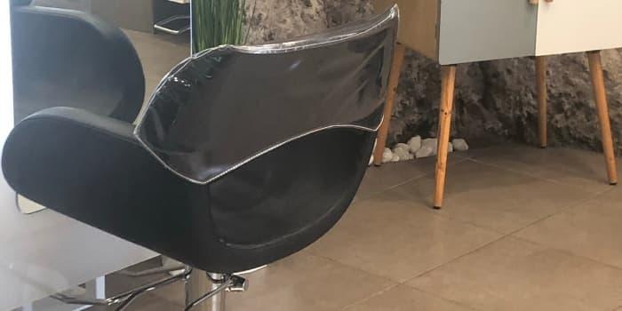 Fauteuil coiffure colombina