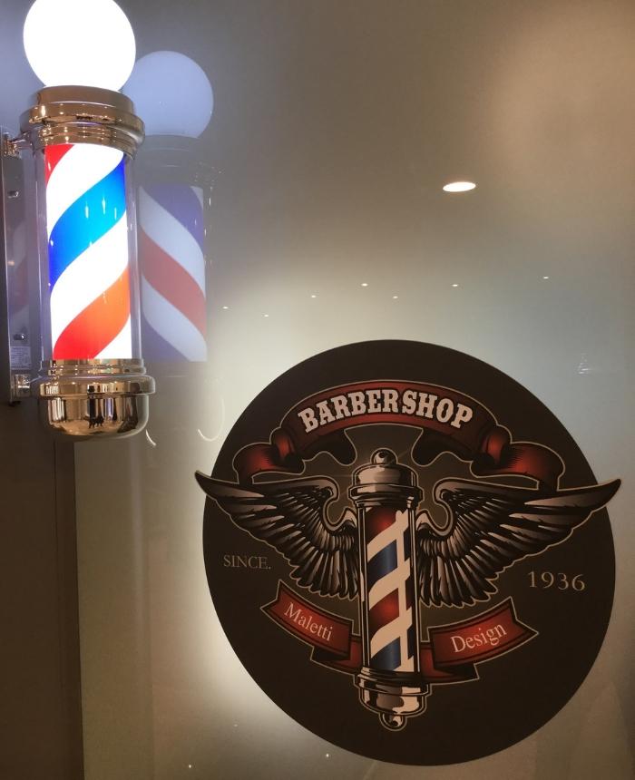 Espace barbier mobilier