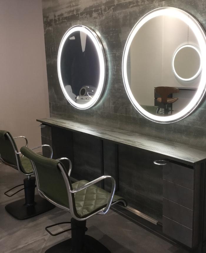 Miroir coiffure