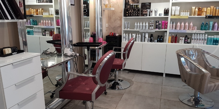Fauteuil coiffure angelina