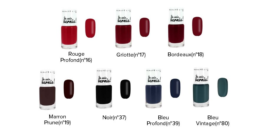 Rouges vernis